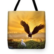 Spirit Of The Everglades Tote Bag