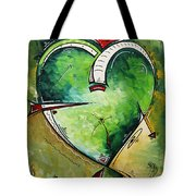 Spirit Of The Heart By Madart Tote Bag