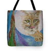 Spirit Of The Mountain Lion Tote Bag
