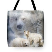 Spirit Of The White Bears Tote Bag