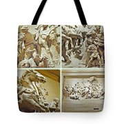 Spirit Of Transportation 1895 By Karl Bitter - Philadelphia Tote Bag by Mother Nature