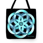 Spirit Of Water 1 - Blue Tote Bag