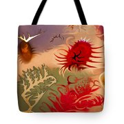 Spirits And Roses Tote Bag by Omaste Witkowski