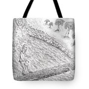 Spirits In The Balance Tote Bag