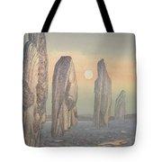 Spirits Of Callanish Isle Of Lewis Tote Bag