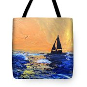 Spirits Rise As The Sails Fill Tote Bag
