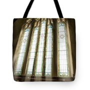 Spiritual Connection Between God And Man Tote Bag