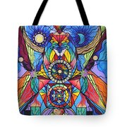 Spiritual Guide Tote Bag by Teal Eye  Print Store