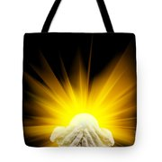 Spiritual Light In Cupped Hands Tote Bag