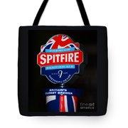 Spitfire Ale Tap Tote Bag