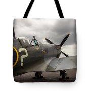 Spitfire On Display Tote Bag