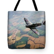 Spitfire Victory Tote Bag