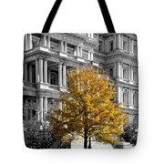 Splash Of Gold Tote Bag