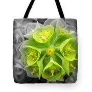 Splash Of Green Tote Bag