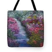 Splash Of Spring Tote Bag