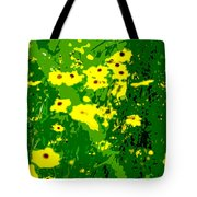 Splash Of Yellow Tote Bag