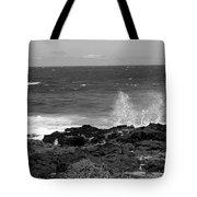 Splashing On The Shore Tote Bag