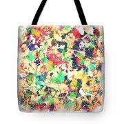 Splashing Paints Tote Bag
