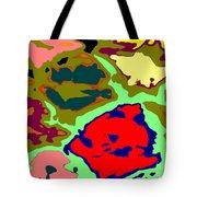 Splatter  Tote Bag by Joseph Baril