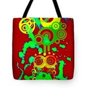 Splattered Series 10 Tote Bag