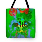Splattered Series 11 Tote Bag