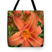 Splendid Day Lily Tote Bag