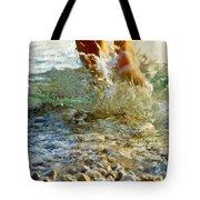 Splish Splash Tote Bag by Heiko Koehrer-Wagner