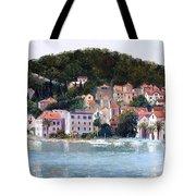 Split Harbour Croatia Tote Bag