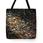 Split Pea Abstract Tote Bag
