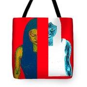 Split Personality Tote Bag by Patrick J Murphy