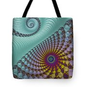 Split Personality Tote Bag