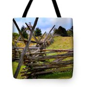 Split Rail Tote Bag