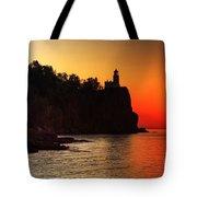 Split Rock Lighthouse - Sunrise Tote Bag