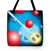 Splitting The Atom Tote Bag