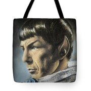 Spock - The Pain Of Loss Tote Bag