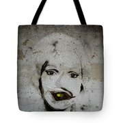 Spoiled Portrait In The Wall Tote Bag