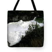 Spokane Falls In The Spring Tote Bag