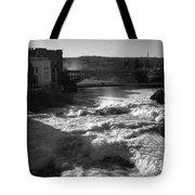 Spokane Falls Spring Flow Tote Bag
