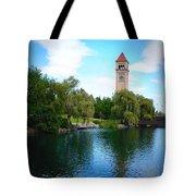 Spokane Riverfront Park Tote Bag
