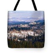 Spokane View 2-4-14 Tote Bag