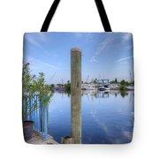 Sponge Boat Docks 2  Tote Bag