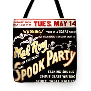 Spook Party Tote Bag by Jennifer Rondinelli Reilly - Fine Art Photography