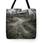 Spooky Apple Orchard Tote Bag