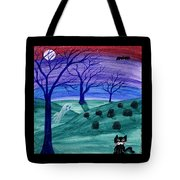 Spooky Night Tote Bag