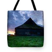 Spooky Shadow Barn Tote Bag