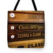 Spool Cases Tote Bag