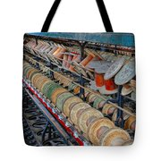 Spools At Lonaconing Silk Mill Tote Bag