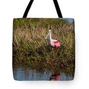 Spoonbill Island Hoping Tote Bag