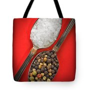 Spoonfuls Of Salt And Pepper Tote Bag