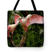 Spoonies In The Treetop Tote Bag